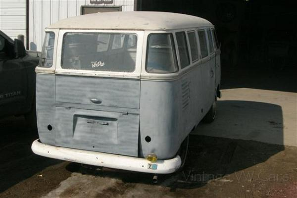 1961 deluxe 15 window vw microbus 1961 vw deluxe bus 499 for 16 window vw bus for sale